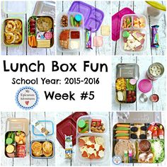 My Epicurean Adventures: Lunch Box Fun 2015-16: Week #5. Lunch box ideas, school lunch ideas, lunches