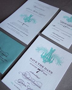 There's nothing more elegant than letterpress.