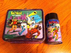 1966 Batman Lunchbox and Thermos