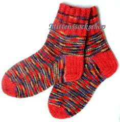 Angora wool socks Womens socks Hand knitted by MittensSocksShop
