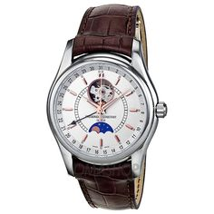Frederique Constant Index Moontimer Automatic Mens Watch 335V6B6