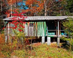 Abandoned Cabins for Sale   Abandoned Cabin Elkmont Smoky Mountains Photograph