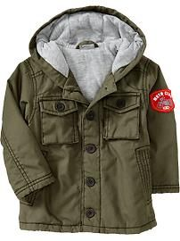 Toddler military jacket