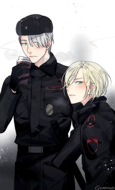 Victor and Yurio - Yuri!!! on Ice by GEAROUS/ギアon pixiv