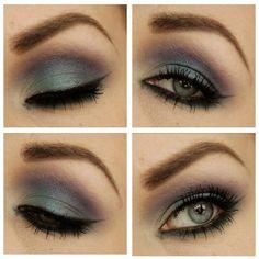 Today's makeup! I just love the combo with blue and purple! #mua #makeupart #makeup #makeuplook #makeupjunkie #makeuplove #smink #dragoonfly #blue #purple #eyes #eotd #eyebrow #look #beauty #instagood #instamood #iphonesia #ilovemakeup #instamakeup - @Dragon - fly- #webstagram
