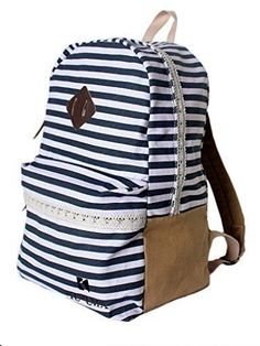 Canvas Collection Women's Vintage Brand Satchel Outdoor Bagpack Earth Colors #Kupuma #Backpack