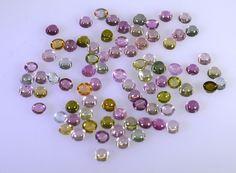 Tourmaline loose gemstones 1 Pieces 2.5 x 2.5 mm Round Multi cabochon Gemstone in Jewellery & Watches, Loose Diamonds & Gemstones, Other Loose Gemstones | eBay