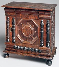 American furniture of the early colonial period generally falls into two stylistic categories: the Seventeenth-Century style (1620–1690) and the Early Baroque, or William and Mary, style (1690–1730). The Seventeenth-Century style reflects the transmission into the New World of late medieval and Renaissance traditions by immigrant craftsmen.