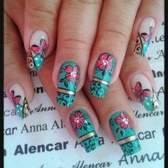 <3 Diana, Finger, Hair Beauty, Mary, Nail Art, Nails, Blog, Flower Nails, Art Nails