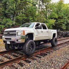 trucks lifted