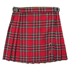 Pleated Scottish Tartan Kilt Skirt