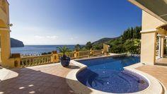 Luxusimmobilien Mallorca : Villa mit traumhaftem Meerblick!
