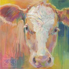 Original Fine Art By © Kimberly Santini in the DailyPaintworks.com Fine Art Gallery