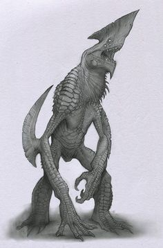 Kaiju by Mavros-Thanatos.deviantart.com on @deviantART