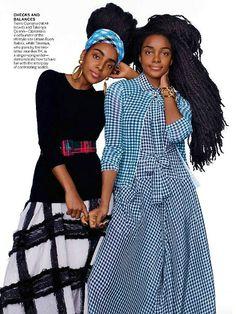 Cipriana and TK Quann Featured in US Vogue Magazine (2015 February Issue) (via Bloglovin.com )