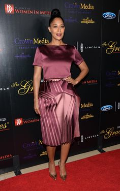 Tracee Ellis Ross. Love the colors and design
