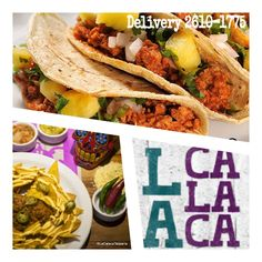 Hoje é Quinta-feira! vehna a disfrutar nossos #Tacos e #Nachos, #sopravocê no #LaCalacaTaqueria!!! #TBT #ComidaTexMex #MogidasCruzes o no conforto de sua casa, #Delivery aos domingos, terça a quinta das 18:00 às 23:00 , sex e sab até as 00:00. DISK La Calaca 26101775