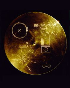 """Sounds of Earth"" - the golden record carried on Voyager 1 and 2"