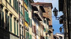 Firenze - Nebenstraße in der Altstadt