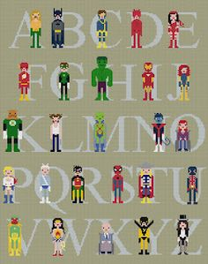 superhero embroidery