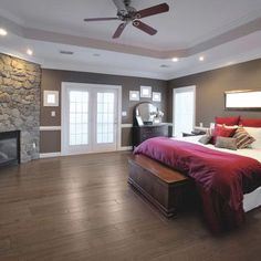 Check out these 101 incredible modern master bedroom design ideas. All colors and layouts along with many decorating ideas in this epic gallery collection of photos. Modern Bedroom, Home Bedroom, Bedroom Design, New Homes, Modern Master Bedroom, House, Awesome Bedrooms, Home Decor, House Interior