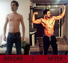 How Long Does it Take to Gain Muscle? #bodytransformation #fitness #bodybuilding…