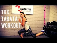 30 Minute TRX Tabata Workout - pretty easy, may want to do twice