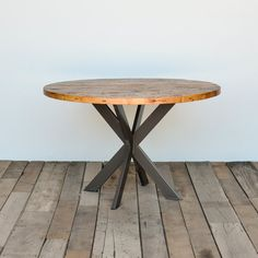 Pedestal table in your choice of color size and by UrbanWoodGoods