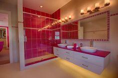 Teen bathroom ~ Interior Design by Ruth Stieren, Baer's Altamonte Springs