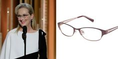 Meryl Street, Frames Direct, Golden Globes, Award Winner, Eye Glasses, Face Shapes, Ted Baker, Eyewear, Awards