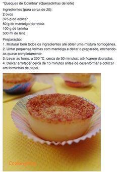 Portuguese Desserts, Portuguese Recipes, Portuguese Food, Mini Desserts, Dessert Recipes, Strawberry Desserts, Dessert Bread, International Recipes, Back Home