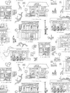 my little paris draw me a picture paris by kanako pinterest illustrations paris. Black Bedroom Furniture Sets. Home Design Ideas
