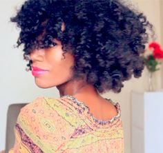 5 Simple Styles for Medium-Length to Long Kinky Natural Hair