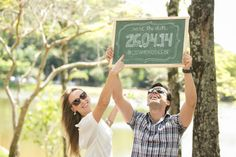 Save the date de Silvia e Bernardo | http://casandoembh.com.br/save-date-de-silvia-e-bernardo/