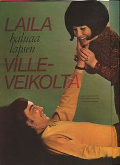 Jaana 04 - 1969, Laila Kinnunen Old Commercials, Magazine Articles, Vintage Ads, Finland, Album Covers, Old School, Nostalgia, Old Things, Memories
