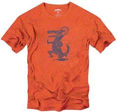 Florida Gators Orange '47 Brand Vintage Mascot Scrum T-Shirt