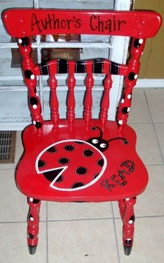 Hand Painted Teacher Stool For My Classroom Love The