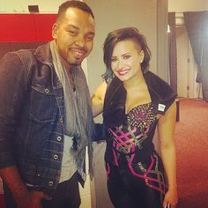 @thejemelshow: Demi Lovato… Such a precious soul. Awesome concert this evening!
