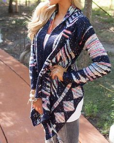 Navy Sequin Sweater by CountryBlissB on Etsy
