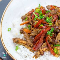 Why did we come up with this Low Syn Crispy Chilli Beef recipe, when there are so many Slimming World versions out there already? So let me explain..