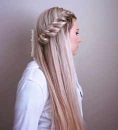 Beautiful hairstyle. Would you wear it?