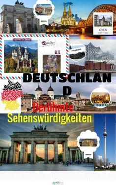 Monumentos alemanes | @Piktochart Infographic
