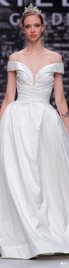 Spring 2020 Bridal Morilee Mori Lee, Here Comes The Bride, Bridal Style, One Shoulder Wedding Dress, Wedding Gowns, Ball Gowns, Couture, Spring, Madeline Gardner
