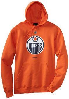 352483dccb5 NHL Edmonton Oilers Primary Logo Hoodie