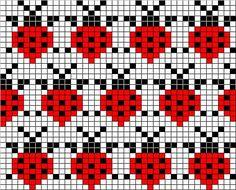 Mittens with jacquard – 'Winter Rainbow' Fair Isle Knitting Patterns, Bead Loom Patterns, Knitting Charts, Knitting Stitches, Beading Patterns, Crochet Patterns, Hat Patterns, Loom Knitting, Free Knitting