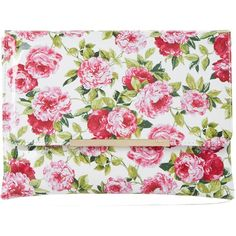 Dune Beaut Floral Clutch Bag, White (£60) ❤ liked on Polyvore featuring bags, handbags, clutches, hand bags, white leather handbags, leather clutches, faux leather purses and evening clutches