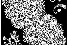 Mandala Coloring Pages, Adult Coloring Pages, Mandala Art, Zentangle, Prints, Free, Zentangles, Zen Tangles, Doodles