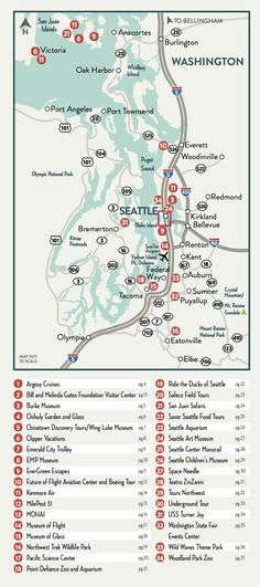 Seattle Washington On Map Of Us Globalinterco - Us tacoma map
