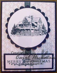 stampin up christmas lodge   STAMPIN' UP! CHICKSTAMPER GOOD-BYE 'CHRISTMAS LODGE' - Chickstamper