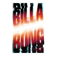 Billabong Lettering by Ray Dombroski